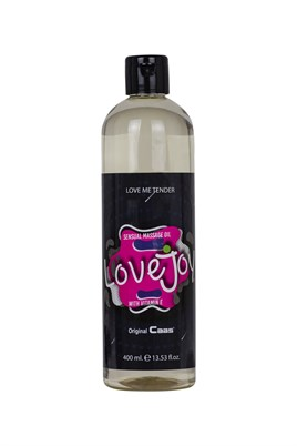 Lovejoy Sensual Massage Oil- Love me tender 400 ml